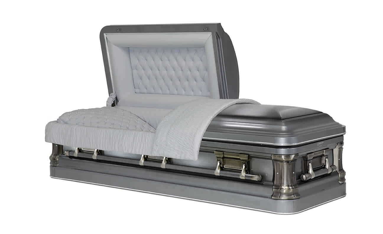 Titan, steel casket